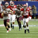 NCAA FOOTBALL: Chick Fil A Kickoff Alabama v Virginia Tech