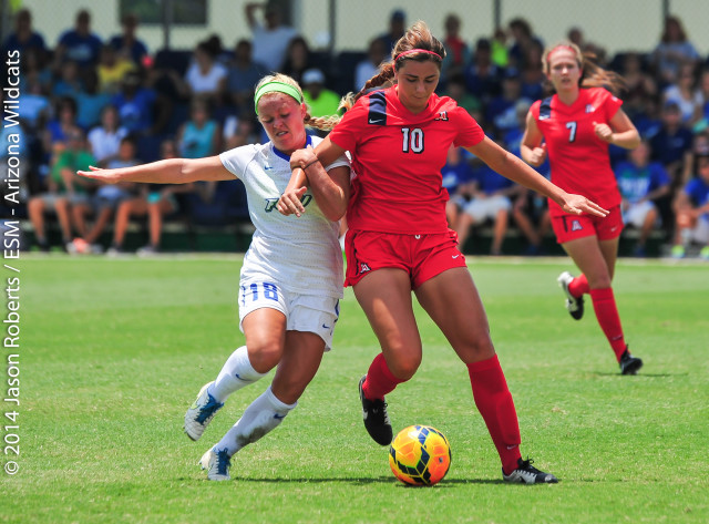20140824 Arizona W Soccer v. FGCU (TM)-30