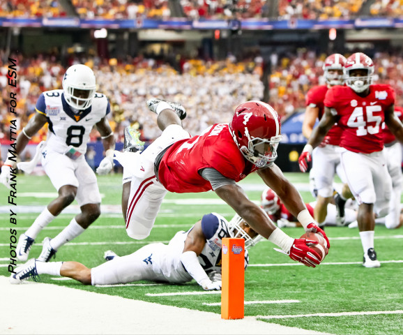 NCAA Football 2014 - Alabama beats West Virginia 33-23