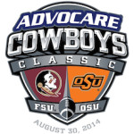 Advocare Cowboys Classic with new FSU logo