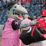 20160722 Clearwater Threshers v. Fort Myers Miracle - Breast Cancer Awareness Night - JR - Final-2135